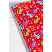24m Tree-rex Wrapping Paper.