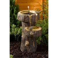 Tree Trunk Water Feature