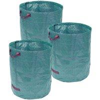 Pack of 3 272 Litre Garden Waste Bag