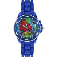 Disney Spiderman Blue Silicone Strap Watch