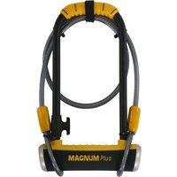 Magnum Plus MagSolid Shackle Key Lock - 115 x 230 x 14mm with Cable.