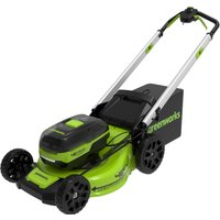 Greenworks 48v Cordless 46cm Self Propelled Lawnmower with 4 Port...