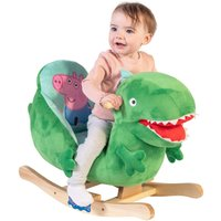 Peppa Pig George Plush Rocker with Wooden Base