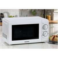'Daewoo Kor6n35s 20 Litre 800w Manual Microwave - White