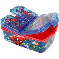 STOR Multi Compartment Spiderman Graffiti Sandwich Box