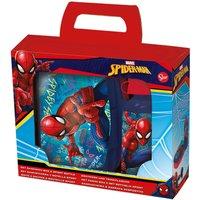 Spiderman 2-Piece 400ml Bottle and Sandwich Box Set