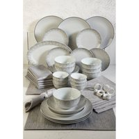 50-Piece Christmas in a Box Dinner Set