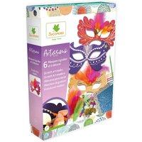 Sycamore Artissimo Scratch Art Masks.