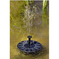 Solar Floating Fountain Water Feature
