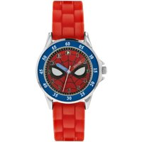 Spiderman Red Silicone Strap Watch