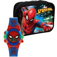 Spiderman Printed Silicone Strap Watch