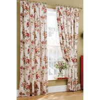 Cath Kidston Garden Rose Lined Pencil Pleat Curtains
