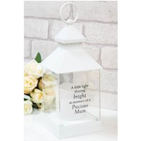 Thoughts of You Graveside Memorial Lantern Mum.