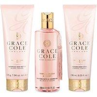 Grace Cole Signature Vanilla Blush + Peony Bath/Shower Set