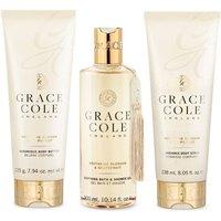 Grace Cole Signature Nectarine Blossom + Grapefruit Bath/Shower Set