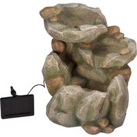 Rock Fall Solar Water Feature