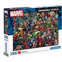 Clementoni 1000 Piece Impossible Marvel Jigsaw Puzzle.