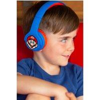 Super Mario Blue/Red Kids Wireless Headphones.