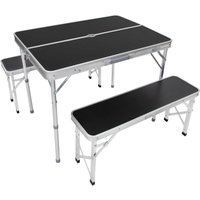 Portable Camping/Picnic Outdoor Table and Bench Set.
