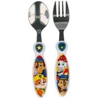 Stor 2-Piece Paw Patrol Comic Cutlery Set.