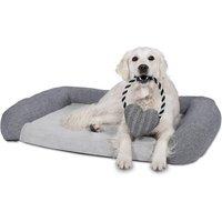 Petface Herringbone Luxury Bolster Mattress