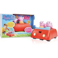 Peppa Pig Peppas Clever Car and Figures