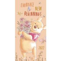 Winnie the Pooh 2022 Slim Diary