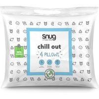 Pack of 4 Snug Chill Out Pillows.