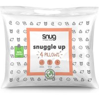 Pack of 4 Snug Snuggle Up Pillows.