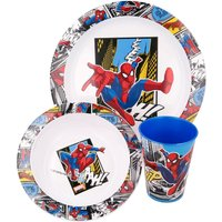 Stor Spiderman Streets 3 Piece Micro Set and Placemat