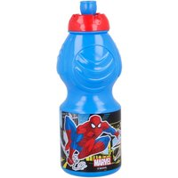 Stor Spiderman Streets Snack Bag and 400ml Sports Bottle Set