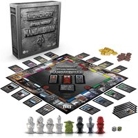 Monopoly Star Wars Mandalorain Board Game