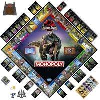 Monopoly Jurassic Park Edition.
