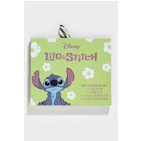 Disney Lilo and Stitch Eye Mask Scrunchie and Jewellery Gift Set.