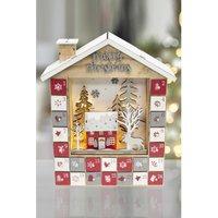 LED Christmas House Advent Calendar