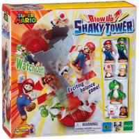 Super Mario Blow Up! Shaky Tower Game.