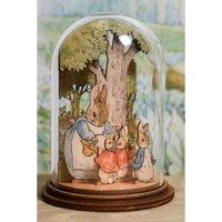 Beatrix Potter Mrs Rabbit Wooden Figurine