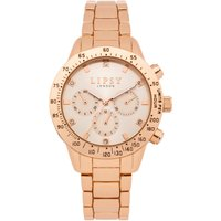Lipsy Rose Gold Bracelet Watch with Rose Gold Dial.
