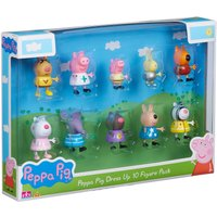Peppa Pig Dress Up 10-Figure Pack