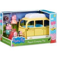 Peppa Pig Peppa's Camping Trip Campervan and Figures Set