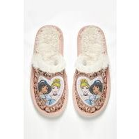 Girls Disney Princess Mule Slippers