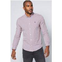 Long Sleeve Poplin Gingham Shirt