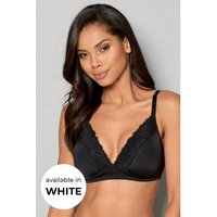 Non-Wired Lace Detail Bra
