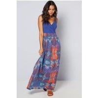Strappy Empire Line Maxi Dress
