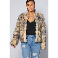 Super Luxe Faux Fur Jacket