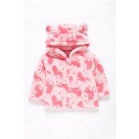 Babys Pink Fleece Jacket