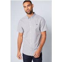 Short Sleeve Gingham Check Shirt