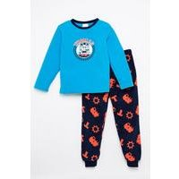 Boys Thomas The Tank Engine Fleece Twosie Pyjamas