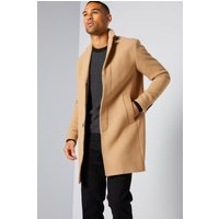 Selected Homme Recycled Wool Crombie Coat