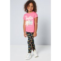 Girls Barbie T-Shirt and Leggings Set